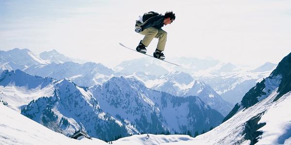 Где отдыхают сноубордисты